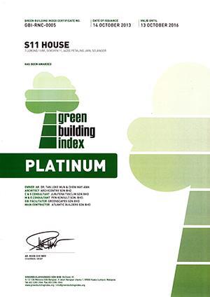 S11 House GBI CVA Platinum Cert