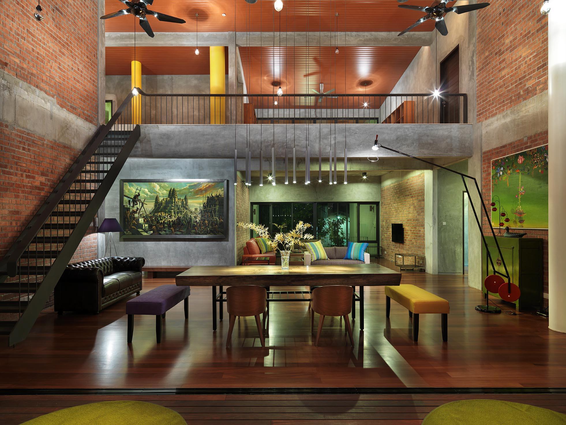 Студия дизайн красивый дом