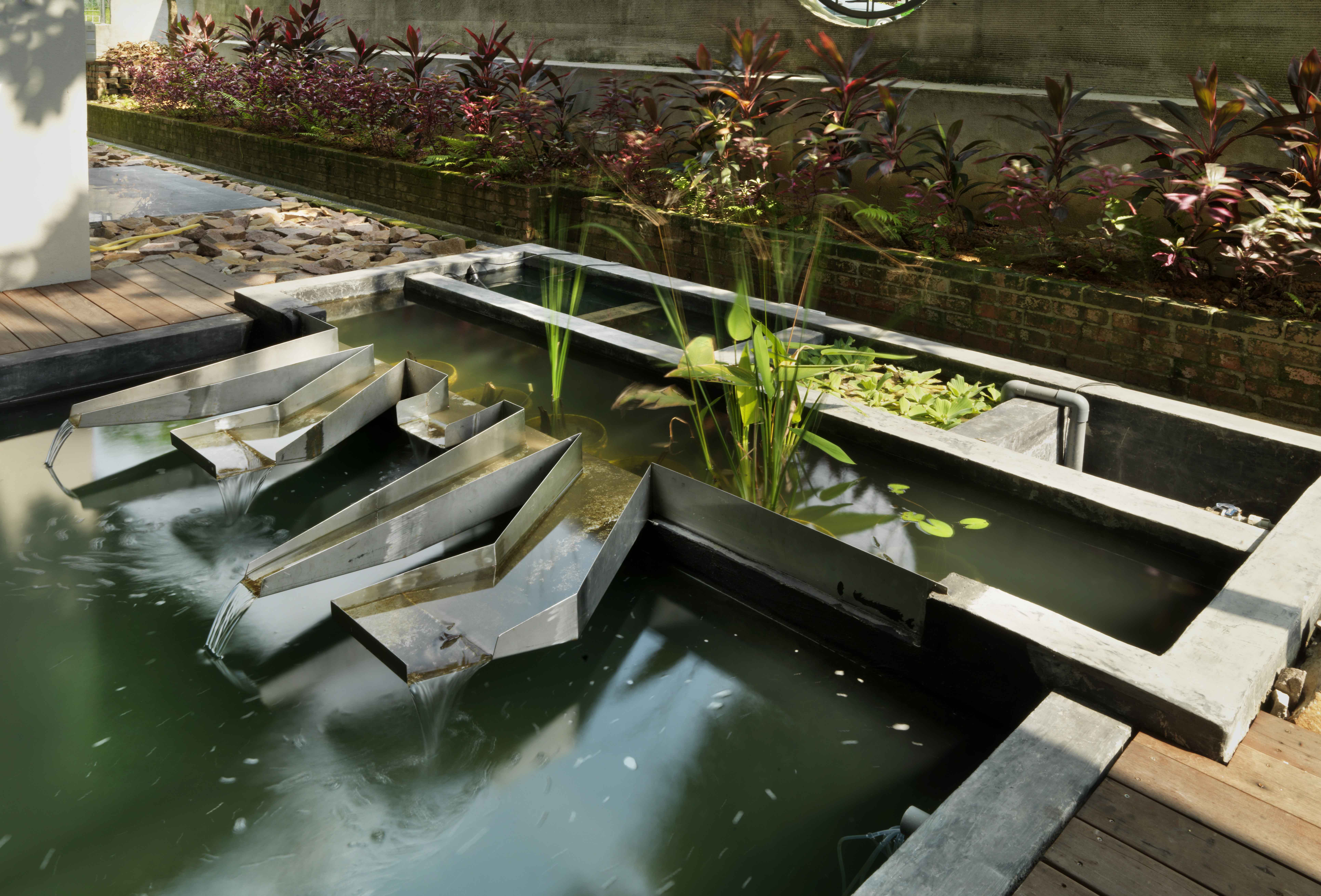 S11 house malaysia s first gbi platinum cva rated house for Pond design in civil 3d